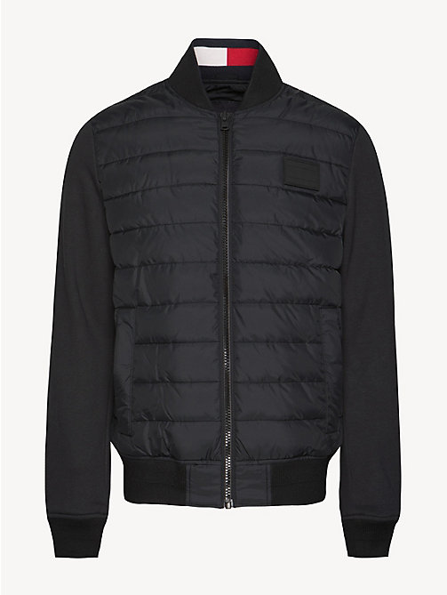 TOMMY HILFIGER Wattierte Bomberjacke - JET BLACK - TOMMY HILFIGER NEW IN - main image 1