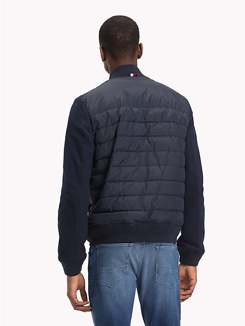 TOMMY HILFIGER Quilted Bomber Jacket - SKY CAPTAIN - TOMMY HILFIGER NEW IN - detail image 1