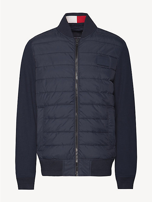 TOMMY HILFIGER Quilted Bomber Jacket - SKY CAPTAIN - TOMMY HILFIGER Bomber Jackets - detail image 1