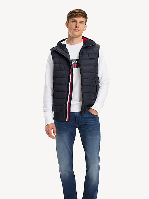 TOMMY HILFIGER Quilted Gilet - SKY CAPTAIN - TOMMY HILFIGER Jackets - main image