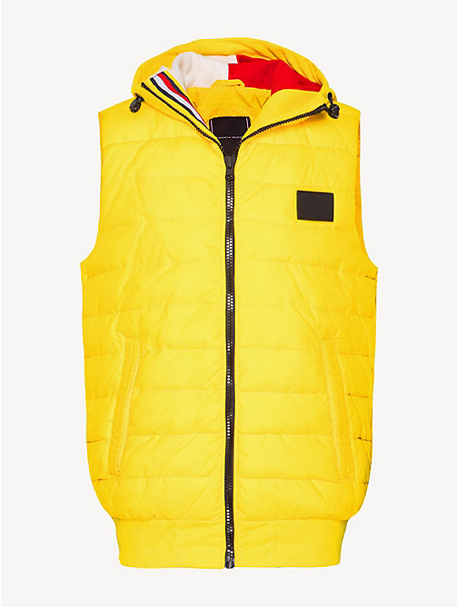 TOMMY HILFIGER Стеганый жилет - EMPIRE YELLOW - TOMMY HILFIGER Куртки - подробное изображение 1