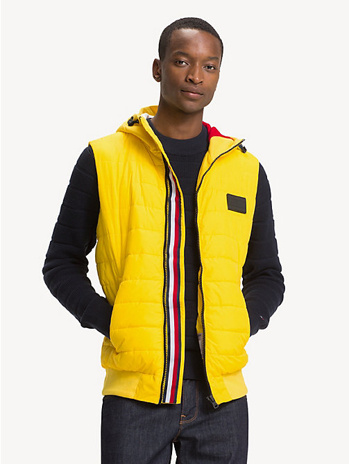 TOMMY HILFIGER Doorgestikte bodywarmer - EMPIRE YELLOW - TOMMY HILFIGER Jacks - main image