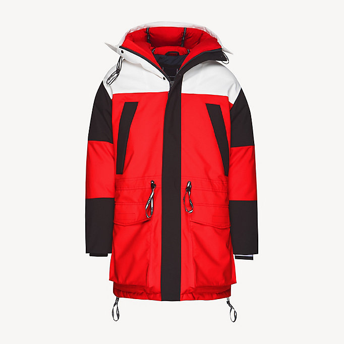 0a23d846465bdc Colour-Blocked Parka. TOMMY HILFIGER