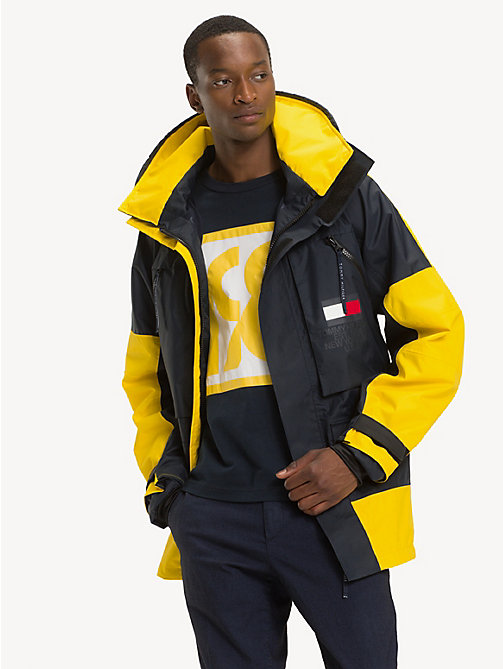 TOMMY HILFIGER Colour-Blocked Sailing Jacket - SKY CAPTAIN - TOMMY HILFIGER NEW IN - main image