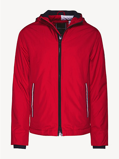TOMMY HILFIGER Hooded Padded Jacket - HAUTE RED - TOMMY HILFIGER NEW IN - detail image 1