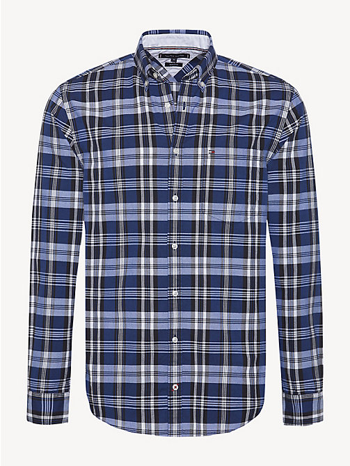 TOMMY HILFIGER Oxford-overhemd met plaidprint - SURF THE WEB / MULTI - TOMMY HILFIGER Sustainable Evolution - main image