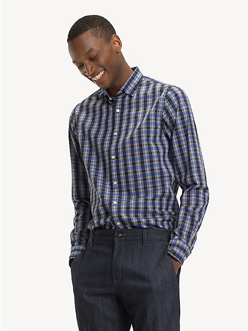 TOMMY HILFIGER Camicia slim fit a quadretti - SURF THE WEB / MULTI - TOMMY HILFIGER Camicie Casual - dettaglio immagine 1