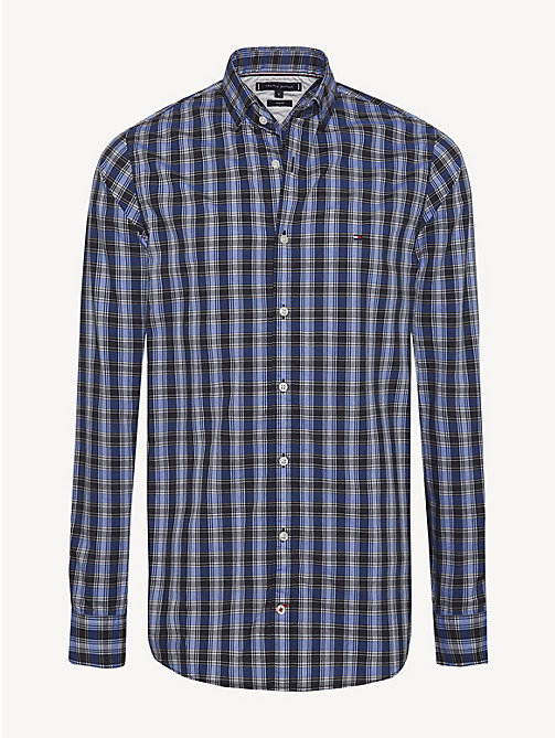 TOMMY HILFIGER Micro Check Slim Fit Shirt - SURF THE WEB / MULTI - TOMMY HILFIGER Casual Shirts - main image