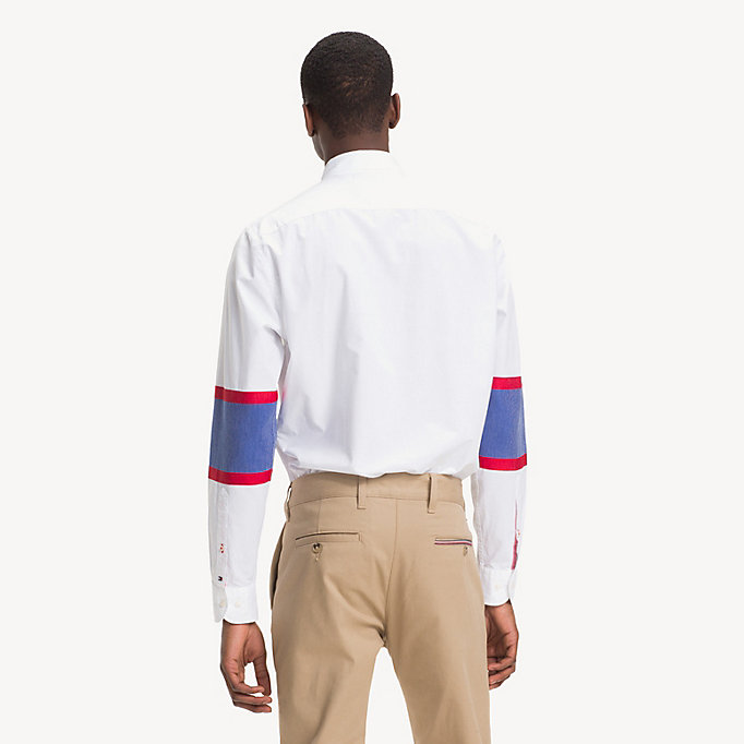 9ad24816c Colour-Blocked Hockey Shirt | Tommy Hilfiger
