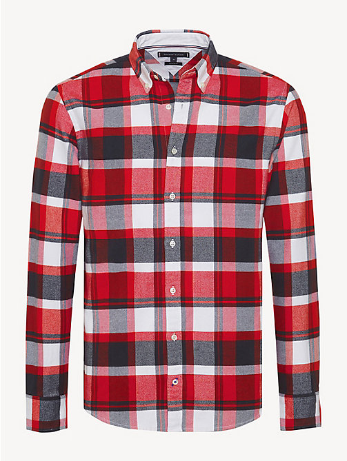 TOMMY HILFIGER Lumberjack Check Shirt - GOJI BERRY / MULTI - TOMMY HILFIGER Casual Shirts - main image