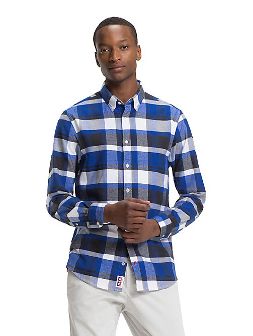 TOMMY HILFIGER Lumberjack Check Shirt - SURF THE WEB / MULTI - TOMMY HILFIGER NEW IN - detail image 1