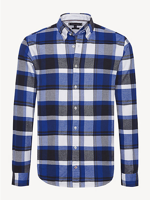TOMMY HILFIGER Lumberjack Check Shirt - SURF THE WEB / MULTI - TOMMY HILFIGER NEW IN - main image