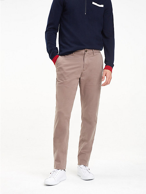 TOMMY HILFIGER TH Flex Chinos - WALNUT - TOMMY HILFIGER Chinos - main image