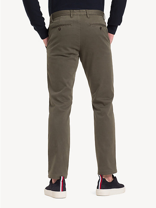 TOMMY HILFIGER TH Flex Chinos - GRAPE LEAF - TOMMY HILFIGER NEW IN - detail image 1