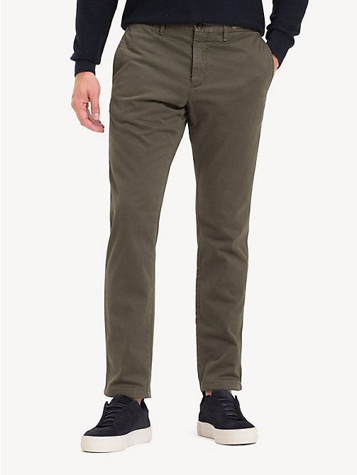 TOMMY HILFIGER TH Flex Chinos - GRAPE LEAF - TOMMY HILFIGER NEW IN - main image