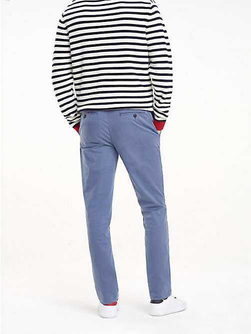 TOMMY HILFIGER TH Flex Chinos - VINTAGE INDIGO - TOMMY HILFIGER NEW IN - detail image 1