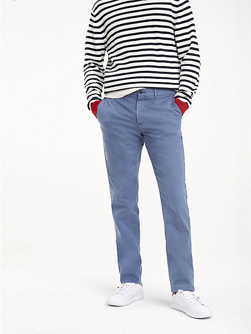 TOMMY HILFIGER TH Flex Chinos - VINTAGE INDIGO - TOMMY HILFIGER Chinos - main image