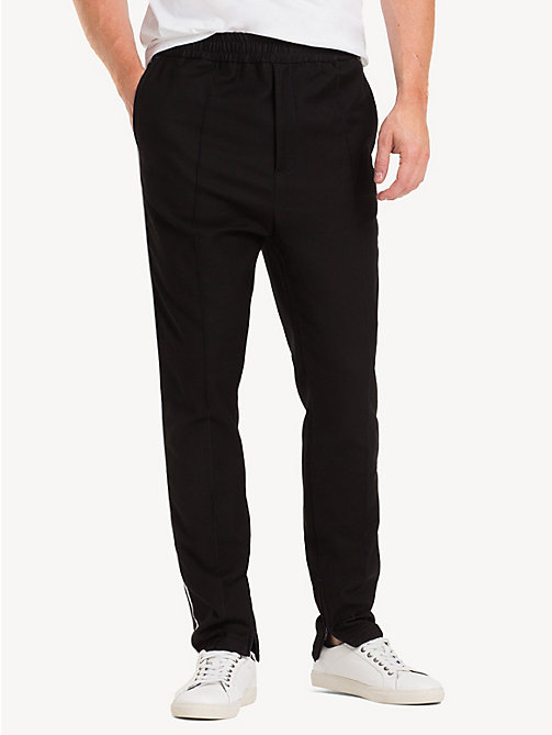 TOMMY HILFIGER Tapered fit sportbroek - JET BLACK - TOMMY HILFIGER NIEUW - main image