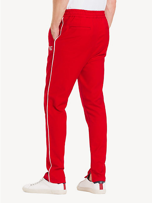 TOMMY HILFIGER Tapered Fit Active Trousers - GOJI BERRY - TOMMY HILFIGER Sweatpants - detail image 1