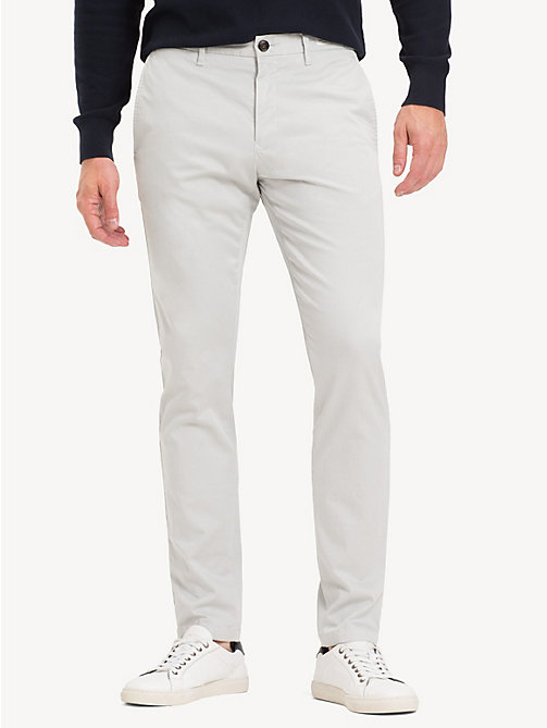 TOMMY HILFIGER Slim Fit Flex Chinos - HARBOR MIST - TOMMY HILFIGER Chinos - main image