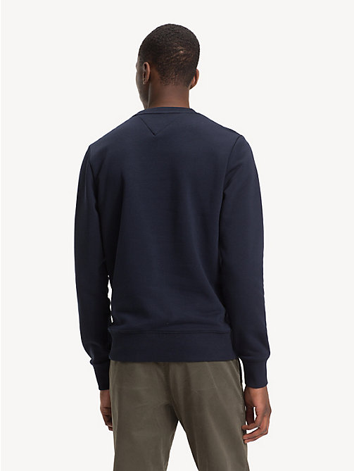 TOMMY HILFIGER Sweatshirt mit Logo in Blockfarben - SKY CAPTAIN - TOMMY HILFIGER NEW IN - main image 1
