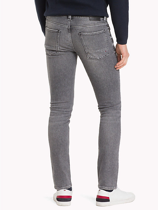 TOMMY HILFIGER Big & Tall slim fit Jeans - ENNIS GREY - TOMMY HILFIGER Grote Maten - detail image 1