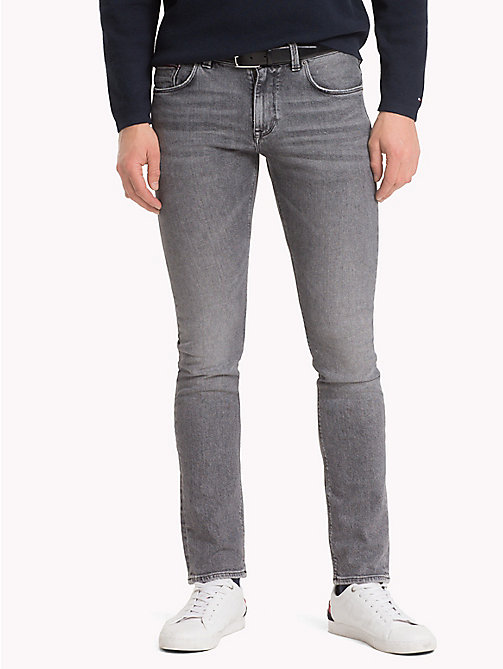 TOMMY HILFIGER Big & Tall slim fit Jeans - ENNIS GREY - TOMMY HILFIGER Grote Maten - main image