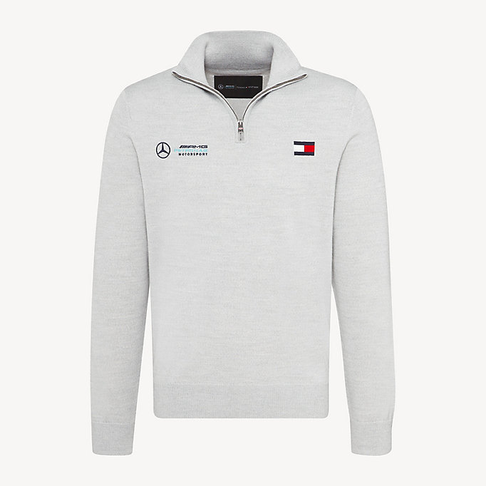 1ba592c4 Mercedes-Benz Logo Zipped Jumper | Tommy Hilfiger