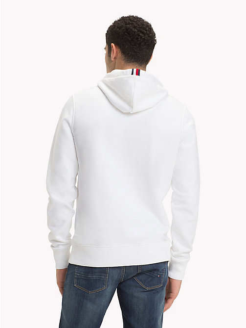 TOMMY HILFIGER Monogram Mascot Hoody - BRIGHT WHITE - TOMMY HILFIGER NEW IN - detail image 1