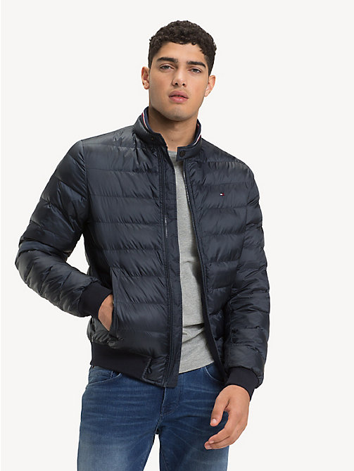 TOMMY HILFIGER Lightweight Bomber Jacket - SKY CAPTAIN - TOMMY HILFIGER NEW IN - main image