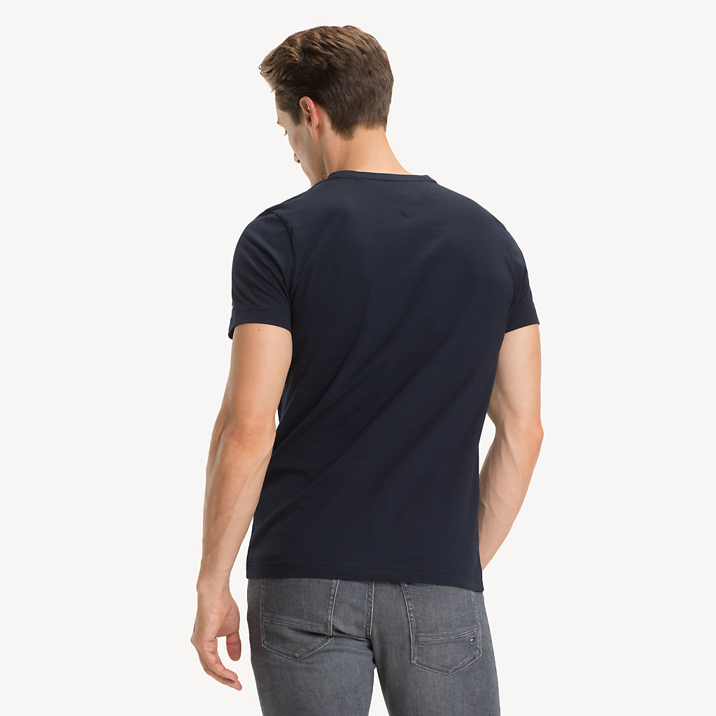Tommy Hilfiger - Camiseta de puro algodón con logo - 2