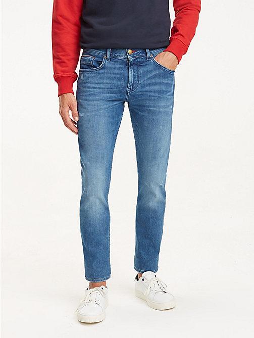 08416b2e842f TOMMY HILFIGERBleecker Distressed Slim Fit Jeans