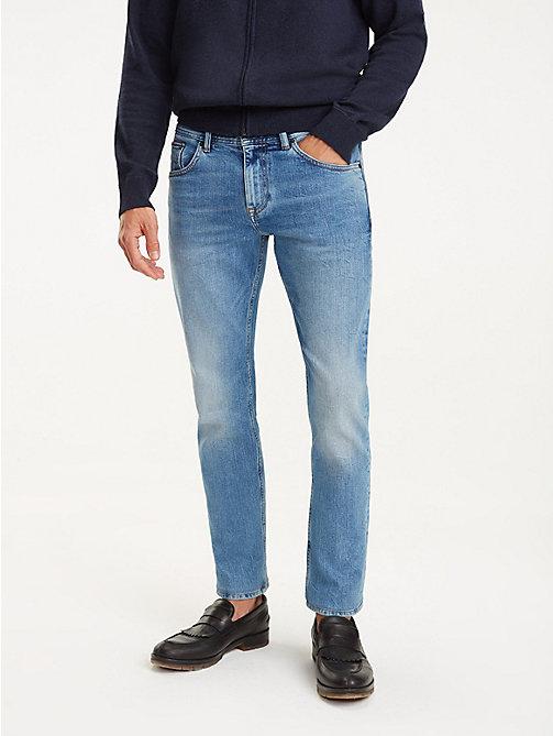 cd1c963acedd TOMMY HILFIGER Bleecker Slim Fit Faded Jeans - CHEVIOT BLUE - TOMMY  HILFIGER Slim-Fit ...