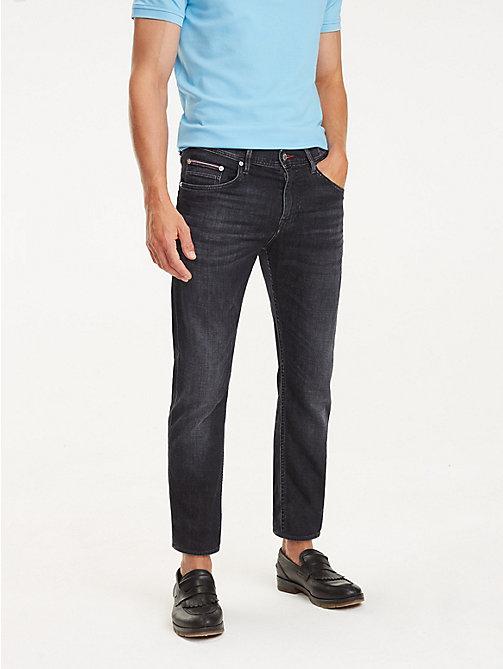 1d39c5cab1 denim bleecker slim fit jeans mit fade-effekt für herren - tommy hilfiger
