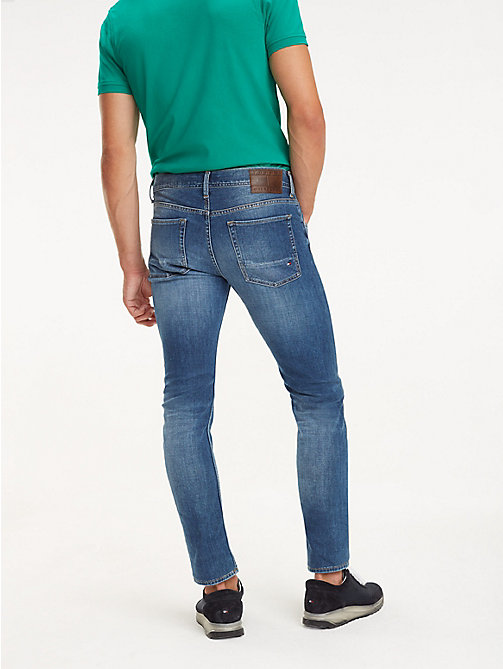 TOMMY HILFIGER STRAIGHT DENTON STR DELIOS BLUE - DELIOS BLUE - TOMMY HILFIGER Straight Fit Jeans - main image 1