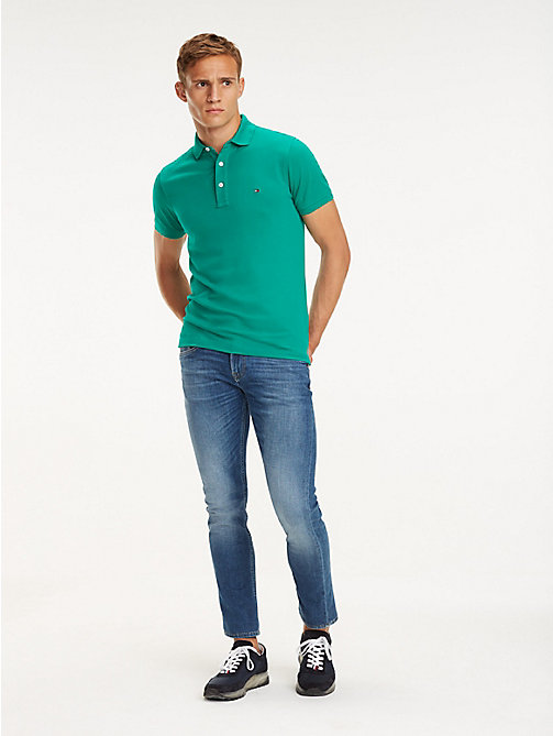 TOMMY HILFIGER STRAIGHT DENTON STR DELIOS BLUE - DELIOS BLUE - TOMMY HILFIGER Straight-Fit Jeans - main image