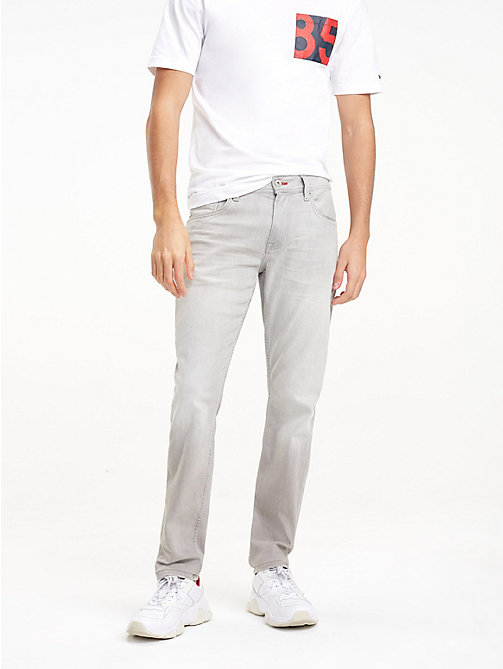 TOMMY HILFIGER STRAIGHT DENTON STR BARBER GREY - BARBER GREY - TOMMY HILFIGER Straight-Fit Jeans - main image