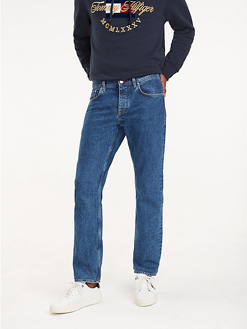 TOMMY HILFIGER Icon Mercer Straight Fit Jeans - 90S STONE - TOMMY HILFIGER NEW IN - main image