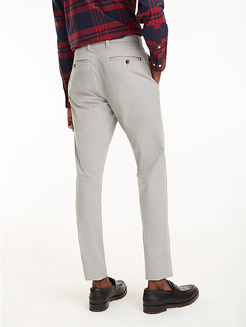 TOMMY HILFIGER STRAIGHT DENTON CHINO ORG TWL - WET WEATHER - TOMMY HILFIGER Pantalons chino - image détaillée 1