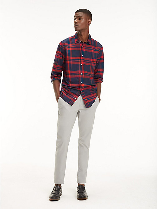 TOMMY HILFIGER STRAIGHT DENTON CHINO ORG TWL - WET WEATHER - TOMMY HILFIGER Pantalons chino - image principale