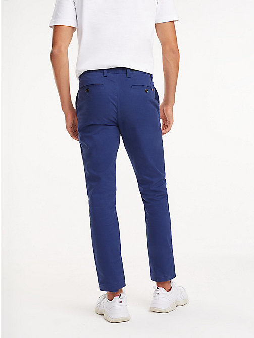 TOMMY HILFIGER STRAIGHT DENTON CHINO ORG TWL - TWILIGHT BLUE - TOMMY HILFIGER Chinos - detail image 1