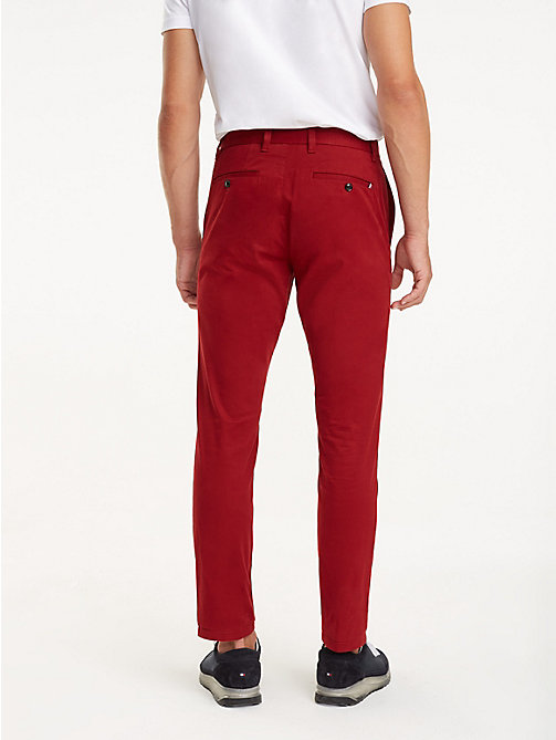TOMMY HILFIGER STRAIGHT DENTON CHINO ORG TWL - SUN-DRIED TOMATO - TOMMY HILFIGER Chinohosen - main image 1
