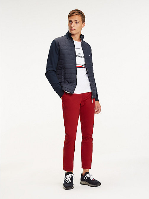 TOMMY HILFIGER STRAIGHT DENTON CHINO ORG TWL - SUN-DRIED TOMATO - TOMMY HILFIGER Chinos - main image