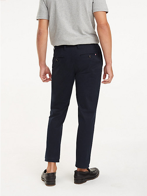 TOMMY HILFIGER REGULAR MERCER CHINO ORG STR TWL - SKY CAPTAIN - TOMMY HILFIGER Chinos - detail image 1