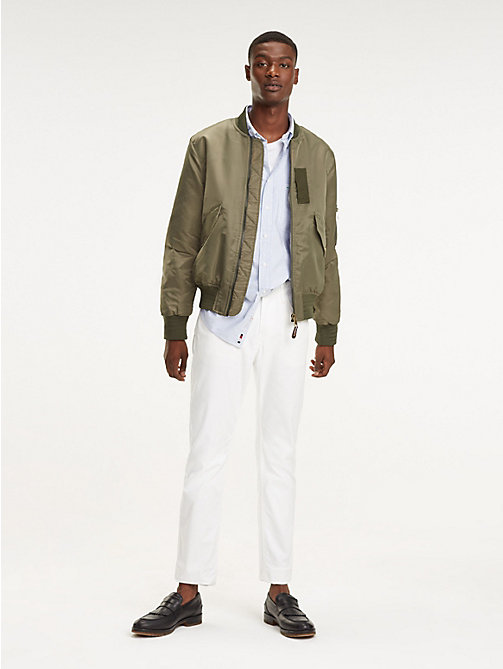 TOMMY HILFIGER STRAIGHT DENTON 5PKT GMD FLEX - BRIGHT WHITE - TOMMY HILFIGER Trousers - main image