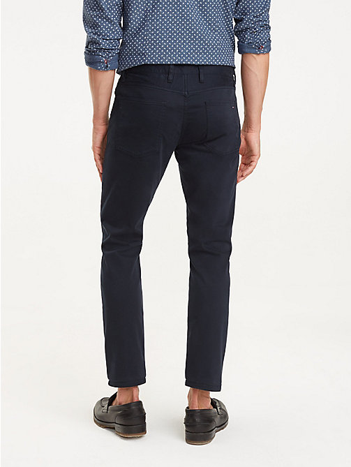 TOMMY HILFIGER STRAIGHT DENTON 5PKT GMD FLEX - SKY CAPTAIN - TOMMY HILFIGER Trousers - detail image 1