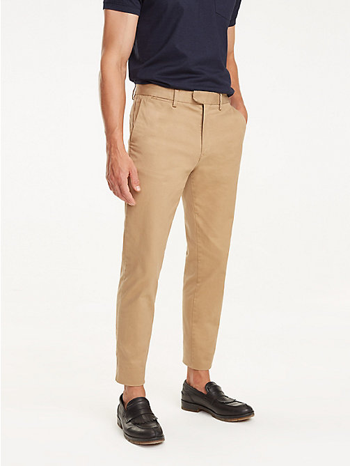 TOMMY HILFIGER Icon Ivy Chinos - TIGER'S EYE - TOMMY HILFIGER NEW IN - main image