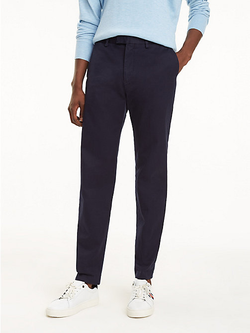 TOMMY HILFIGER Icon Ivy Chinos - NIGHT SKY - TOMMY HILFIGER NEW IN - main image