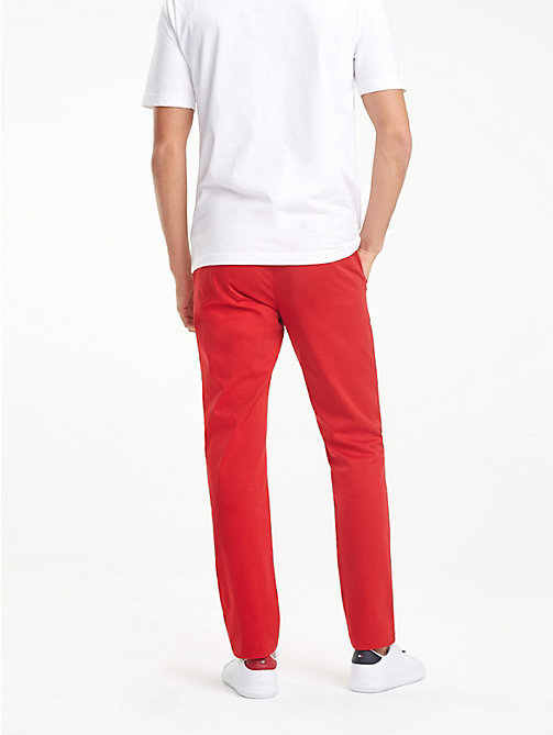 TOMMY HILFIGER STRAIGHT DENTON CHINO GMD FLEX - HAUTE RED - TOMMY HILFIGER Chinos - detail image 1