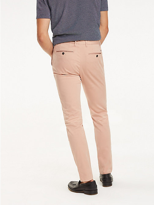 TOMMY HILFIGER STRAIGHT DENTON CHINO GMD FLEX - TUSCANY - TOMMY HILFIGER Pantalons chino - image détaillée 1